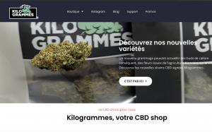 kilogrammes meilleur site cbd fiable