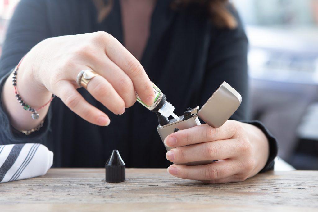 rechargement cigarette électronique CBD